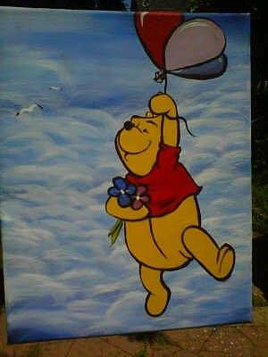 Winnie The Pooh Painting By Hollie Leffel