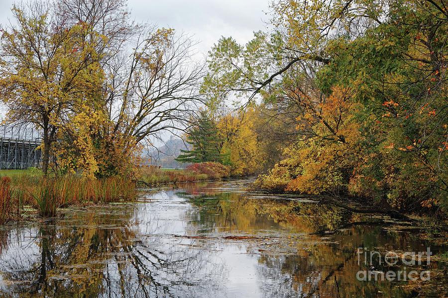 Winona Minnesota Photo Gilmore Creek Fall Colors by Kari Yearous