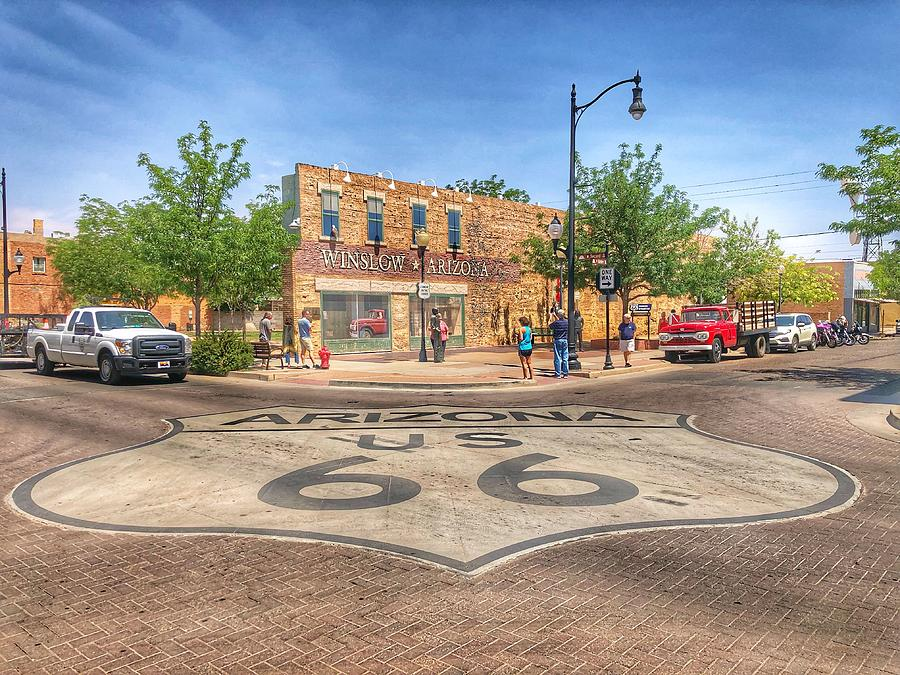Winslow Arizona by Sumoflam Photography