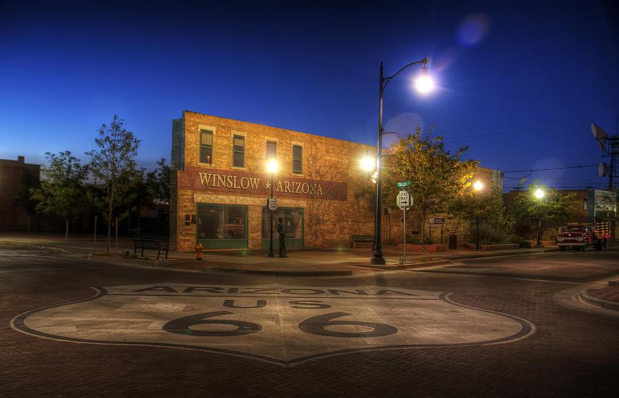 Winslow Photograph - Winslow Corner by Wayne Stadler