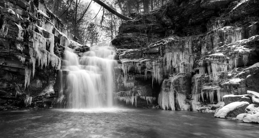Big Falls Photograph - Winter At Big Falls  by Lori Deiter