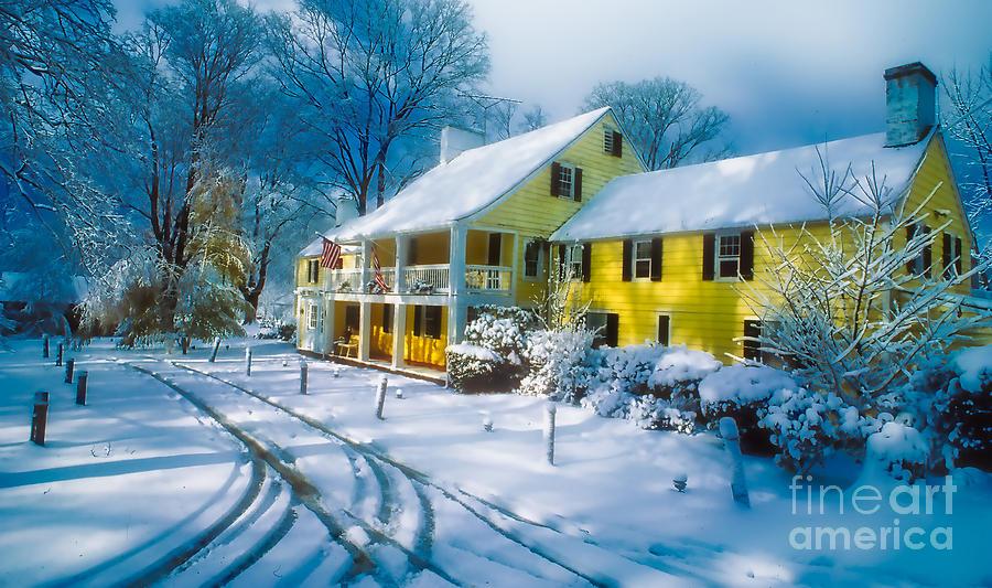 Winter At The Inn Photograph