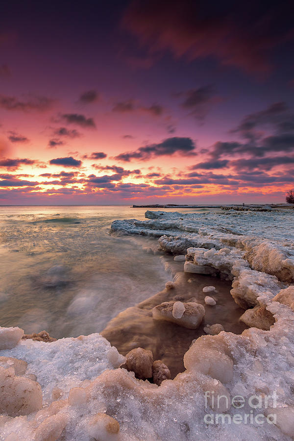 Atwater Beach Photograph - Winter Attrition by Andrew Slater