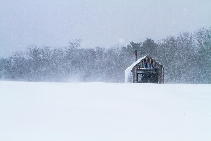Winter Barn I by Steven David Roberts