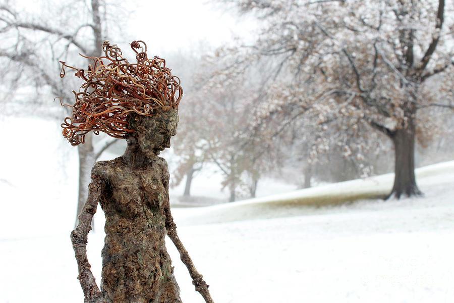 Winter Beauty Sculpture
