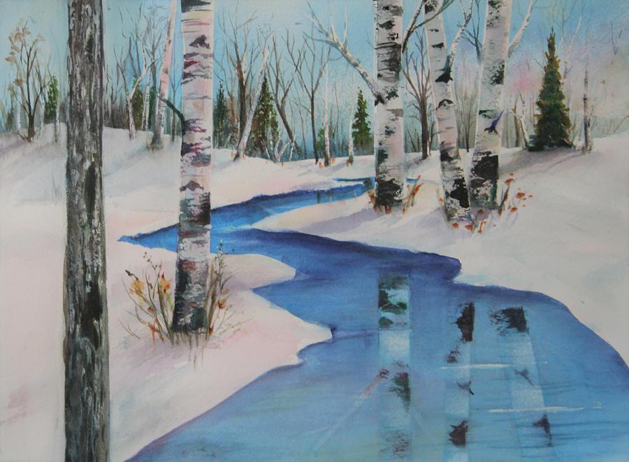 Winter Birch by Patricia Ricci