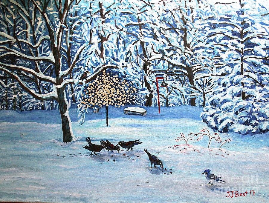 Winter Blues by Janice Best