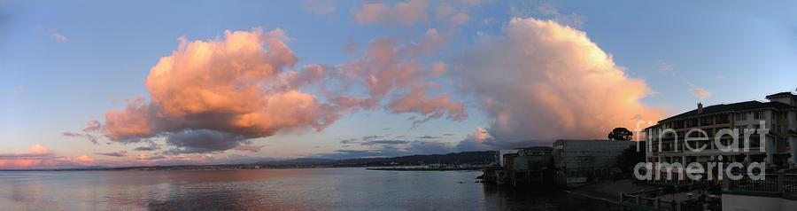 Winter Clouds Over Monterey Bay by James B Toy