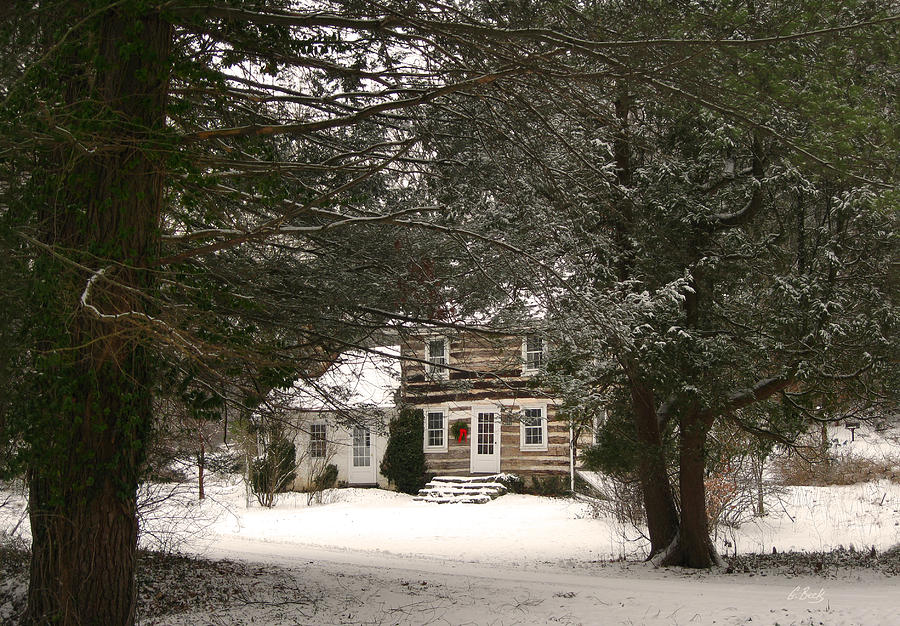 Snow Photograph - Winter Cottage by Gordon Beck