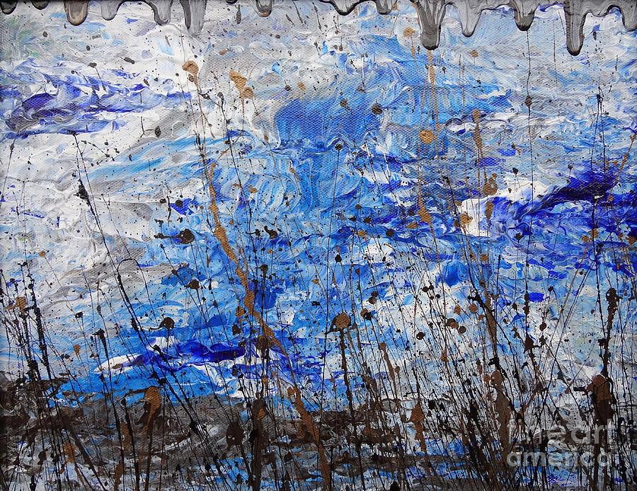 Winter Painting - Winter Crisp by Jacqueline Athmann