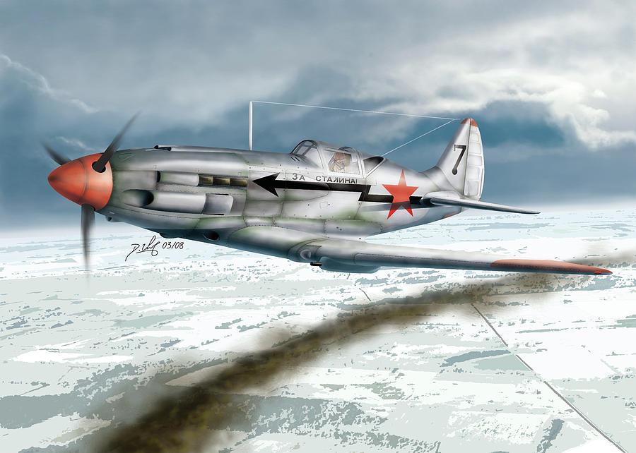 Aircraft Digital Art - Winter by Daniel Uhr