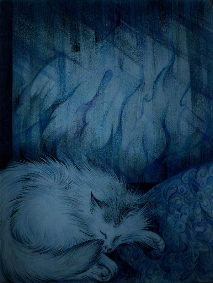 Winter Day Napping by Anna Duyunova