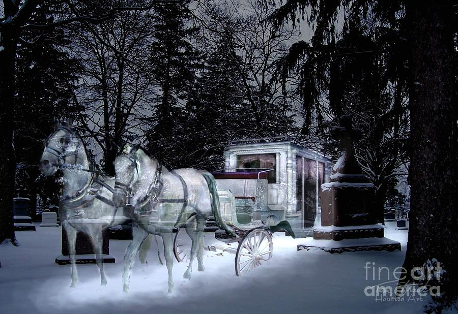 Paranormal Photograph - Winter Departure   by Tom Straub