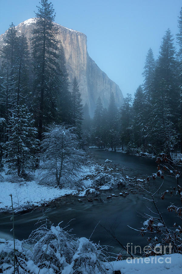 Winter El cap  by Brandon Bonafede