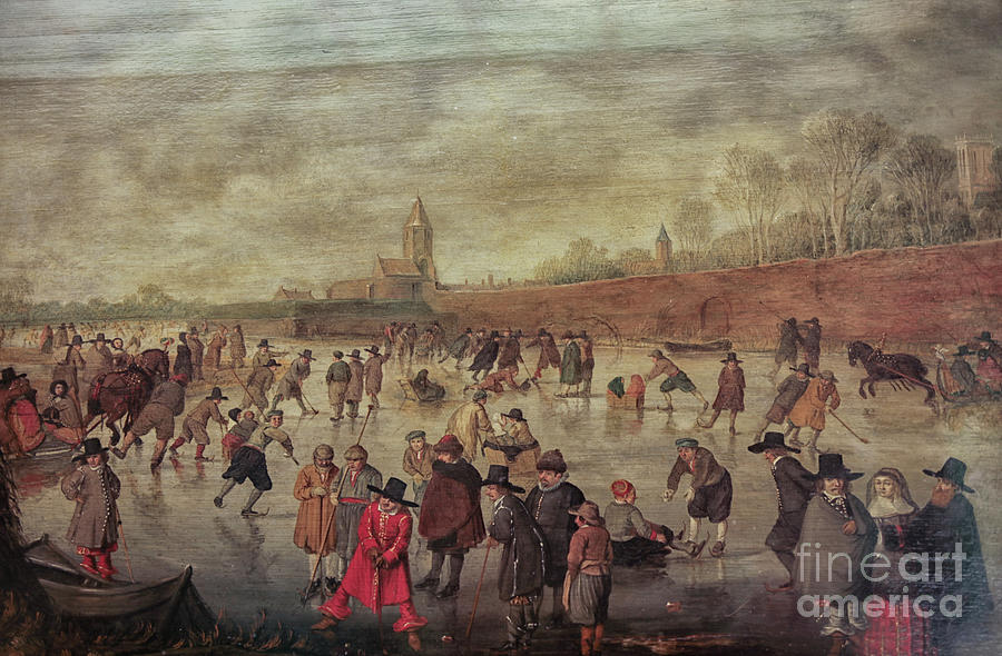 Winter Fun Painting By Barend Avercamp Photograph