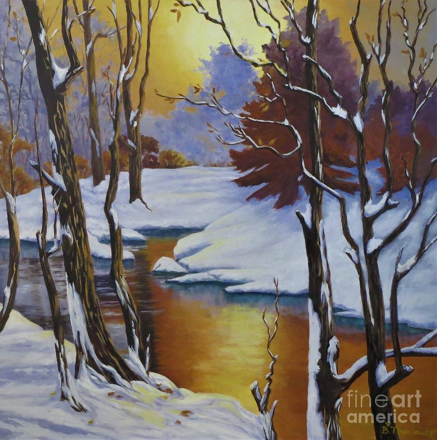 Winter Gold by Beverly Theriault
