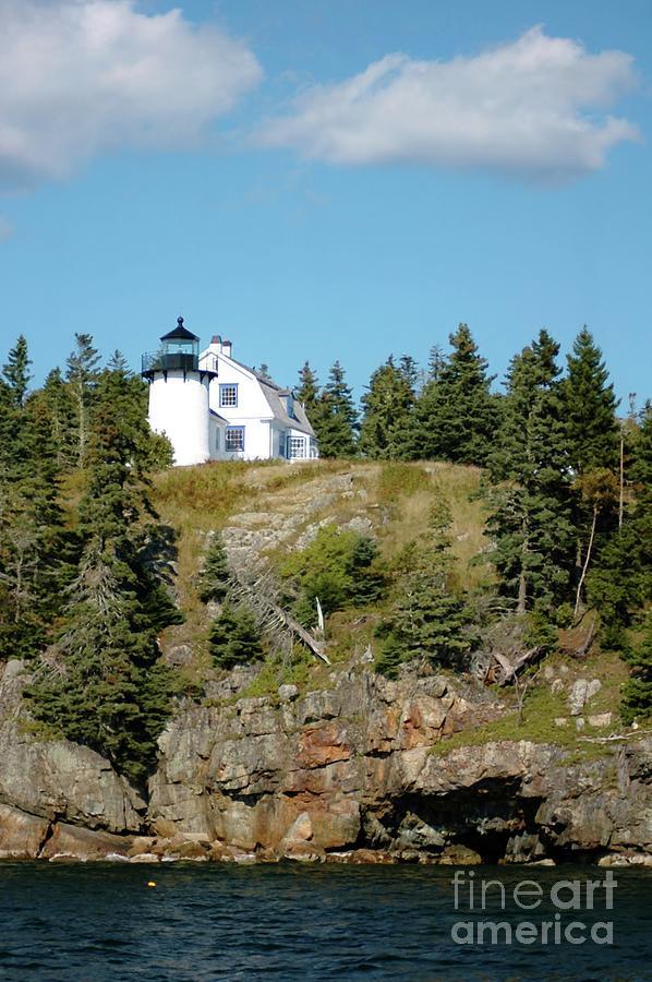 Winter Harbor Lighthouse Photograph