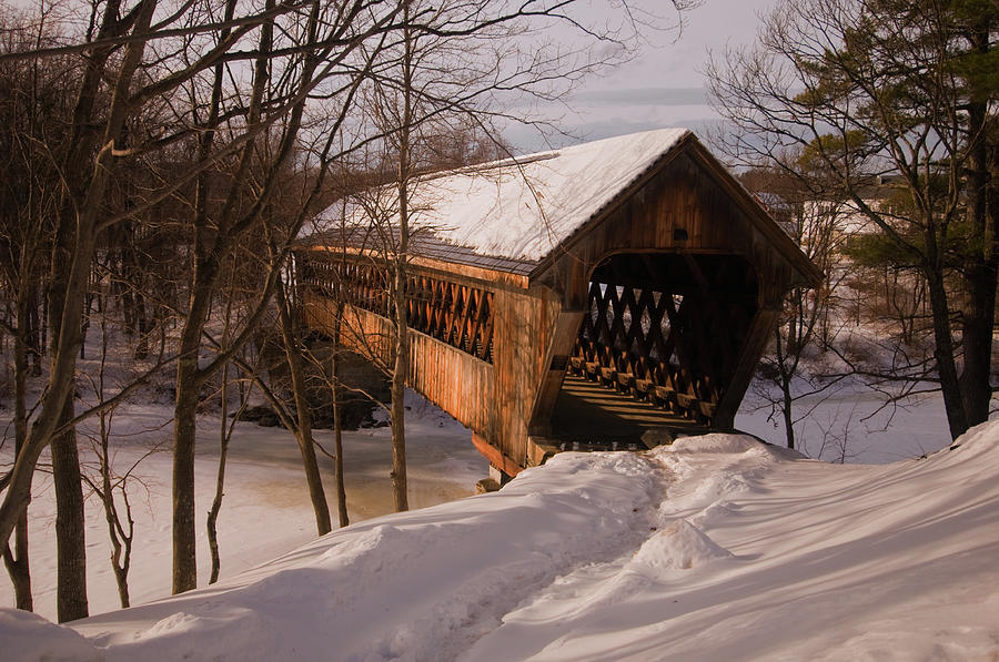 Winter Henniker Photograph by Paul Mangold
