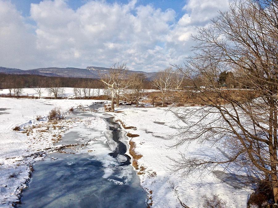 Winter Hike Photograph by Cornelia DeDona