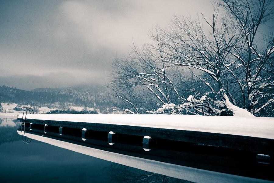 Winter Photograph - Winter Idyl by Luka Matijevec