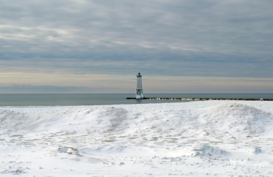 Winter In Frankfort Photograph