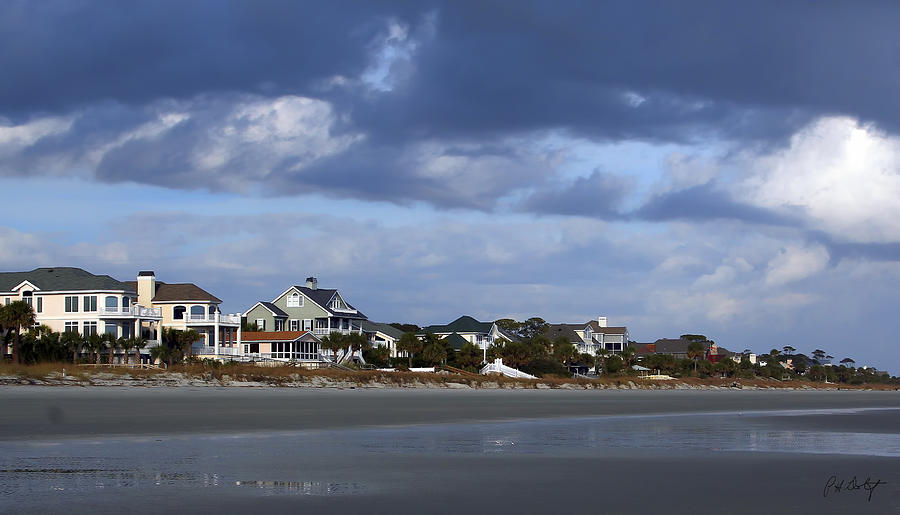 Beach Photograph - Winter In Hilton Head by Phill Doherty