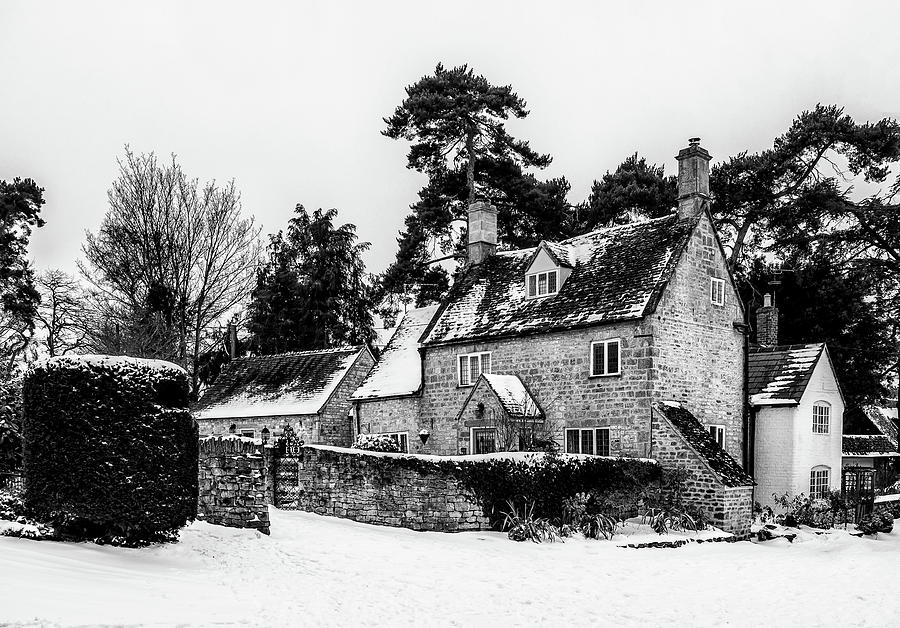 Winter Photograph - Winter In The Cotswolds by Nick Bywater
