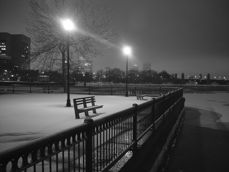 Winter Photograph - Winter In The Park by Eric Workman