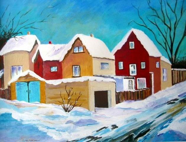 Winter in Toronto by Sue Nelson