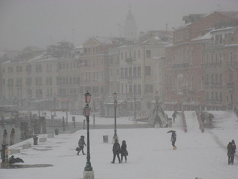 Venice Photograph - Winter In Venice by Erla Zwingle