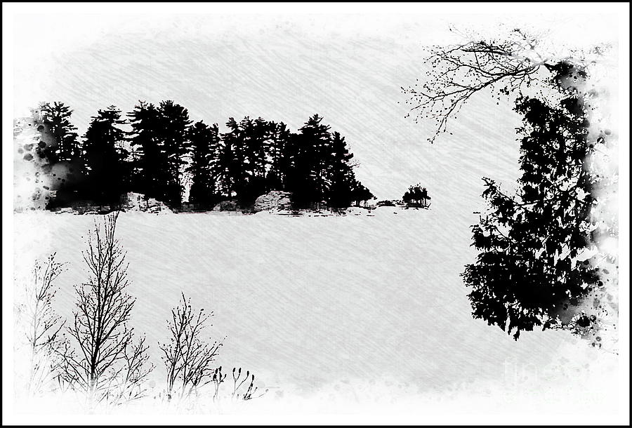winter island pe by Burney Lieberman
