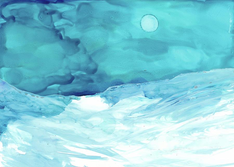 Winter Painting - Winter by Jean Marie Economen