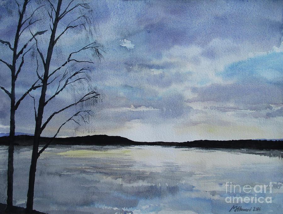 Winter Lake, Sundborn by Martin Howard