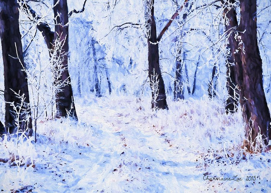 Winter Landscape 2 by Charmaine Zoe