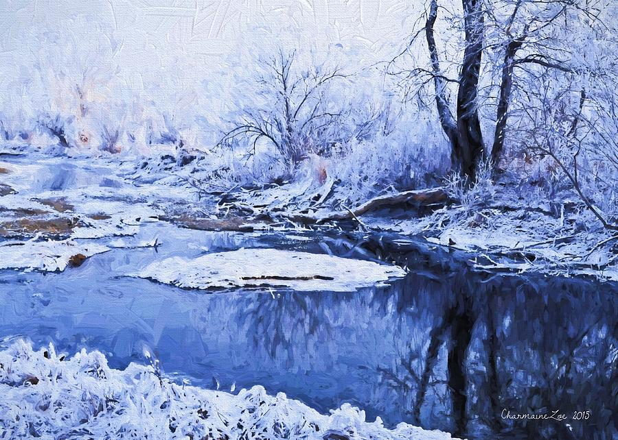 Winter Landscape 3 by Charmaine Zoe