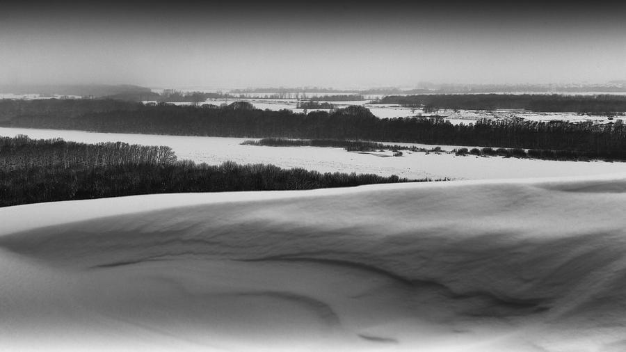 Snow Of Victory Landscape Photograph