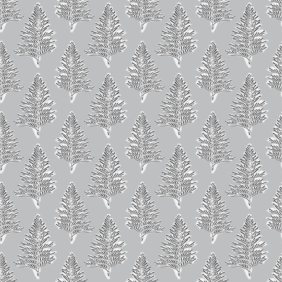 Grey Mixed Media - Winter Leaves- Art By Linda Woods by Linda Woods