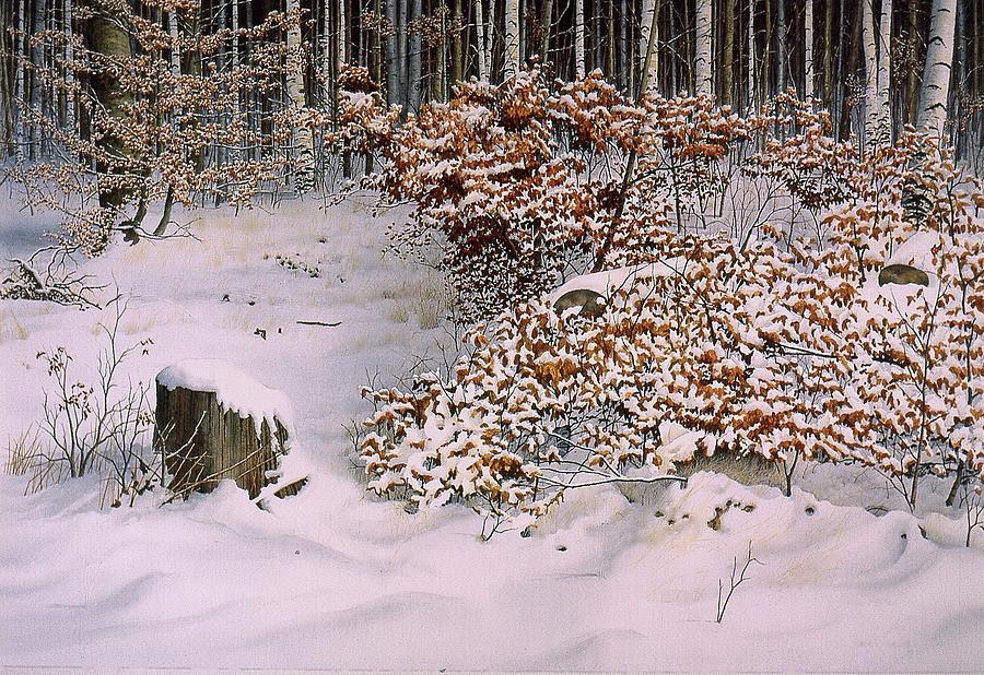Winter Leaves by Conrad Mieschke
