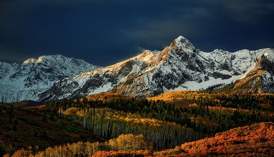 Winter Meets Autumn by Paul Bartell