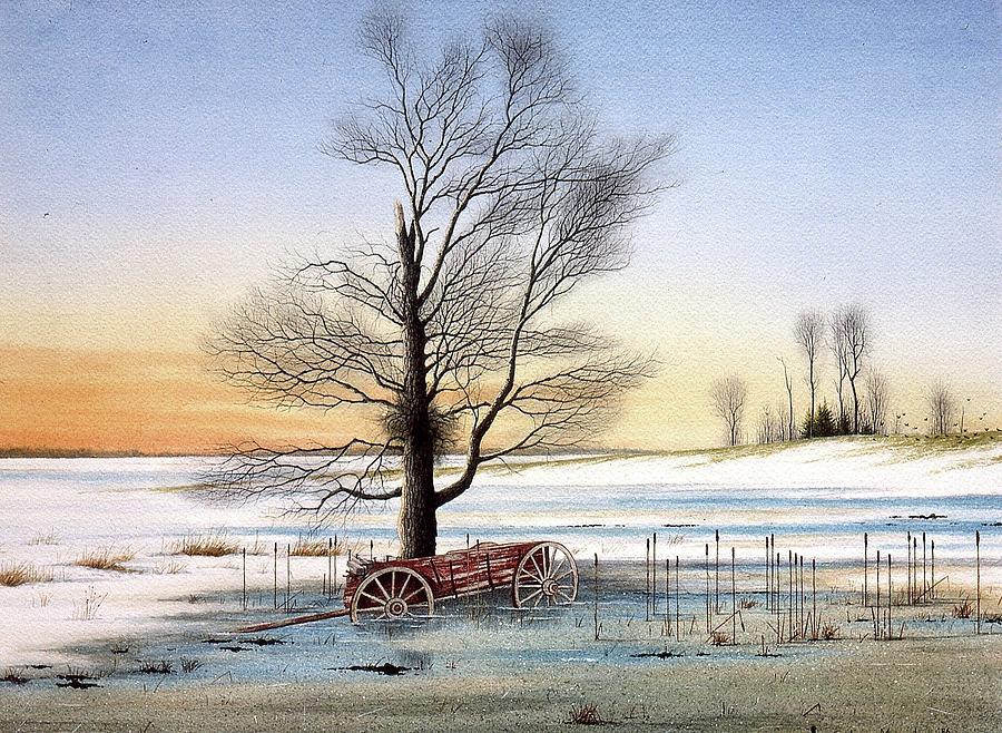 Winter Memories by Conrad Mieschke