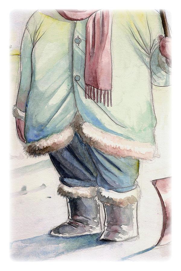 Winter Digital Art - Winter by Michael Myers