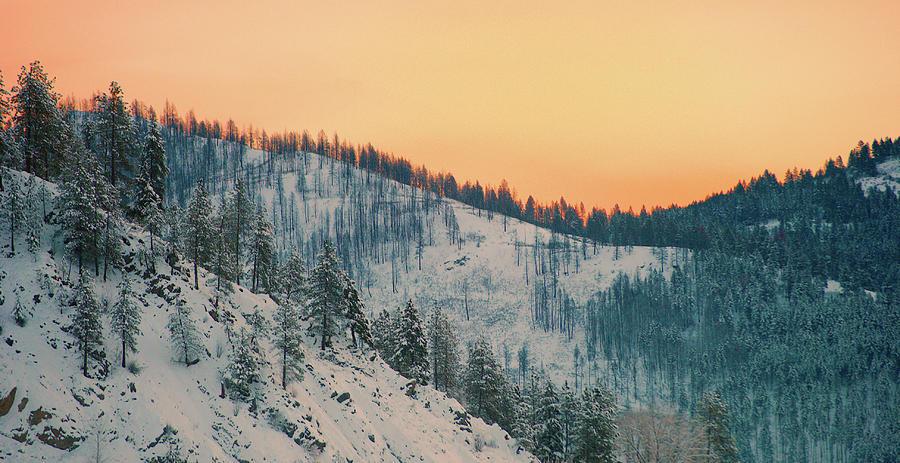 Winter Mountainscape Photograph