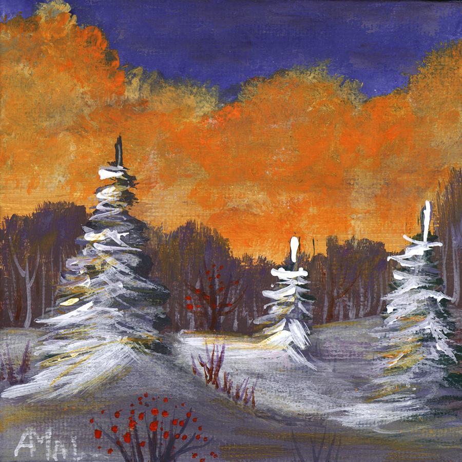 Winter Nightfall #2 by Anastasiya Malakhova
