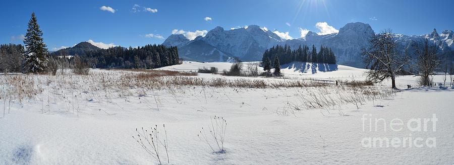 Winter Panorama 2 Photograph