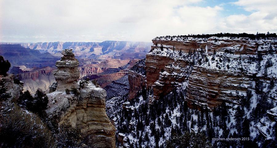 Winter Panorama by Stephen Andersen