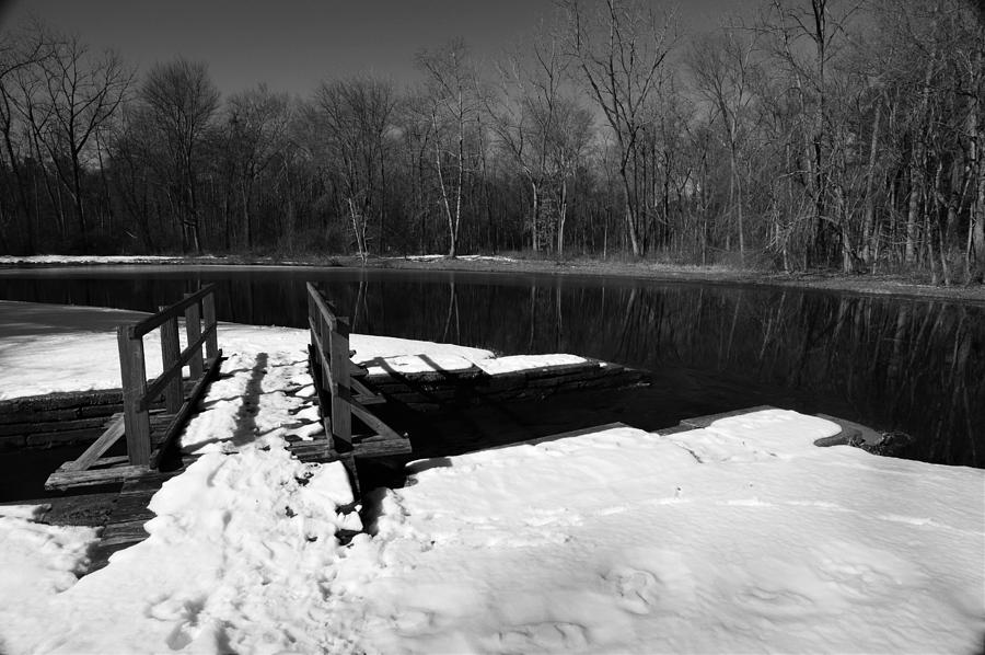 Winter Photograph - Winter Park 2 by Charles HALL