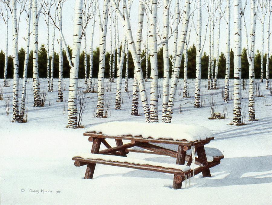 Winter Pcnic by Conrad Mieschke
