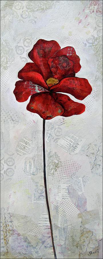 Winter Poppy I Painting