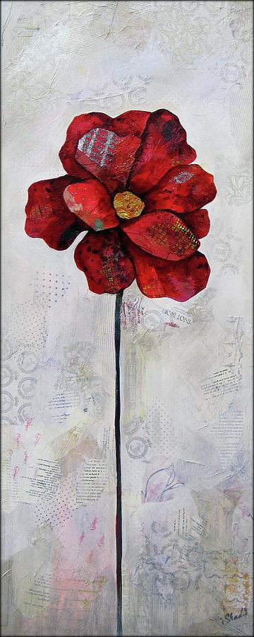 Winter Poppy II Painting
