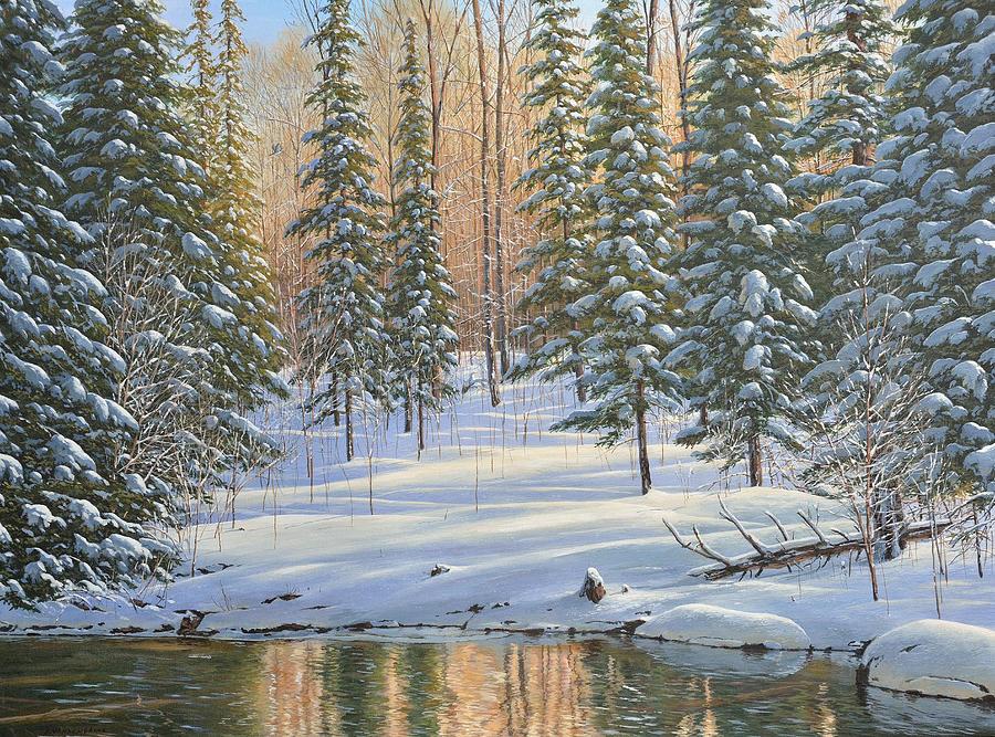 Winter Reflections by Jake Vandenbrink